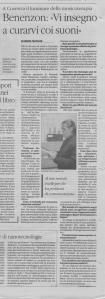 Articolo quotidiano Benenzon2